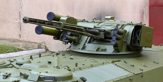 Тhe 30mm ZTM-1 automatic cannon and the ZTM-2