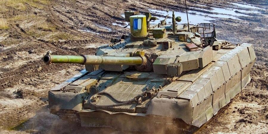 """Основний бойовий танк Т-84 """"Оплот"""""""
